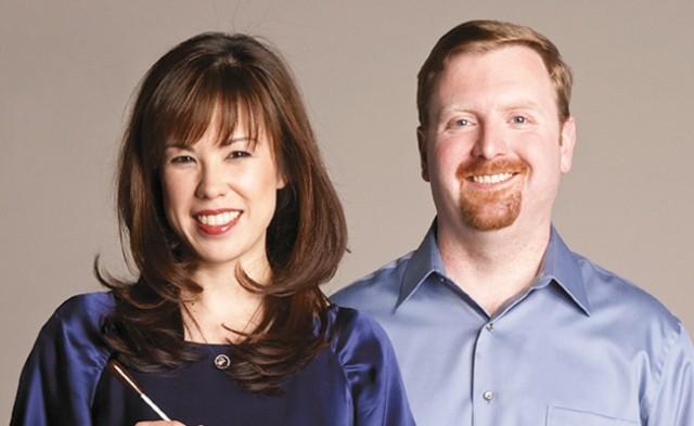 Sarah Hicks and Sam Bergman. Photo by Jake Armour
