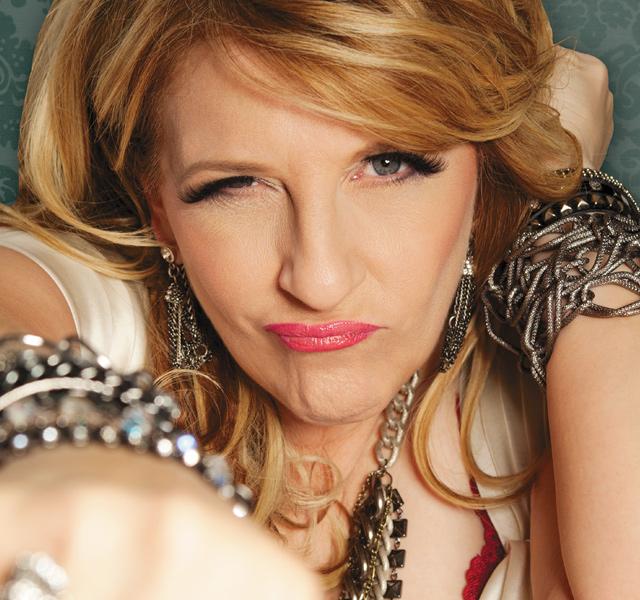Lisa Lampanelli. Photo Courtesy of Mystic Lake Casino Hotel