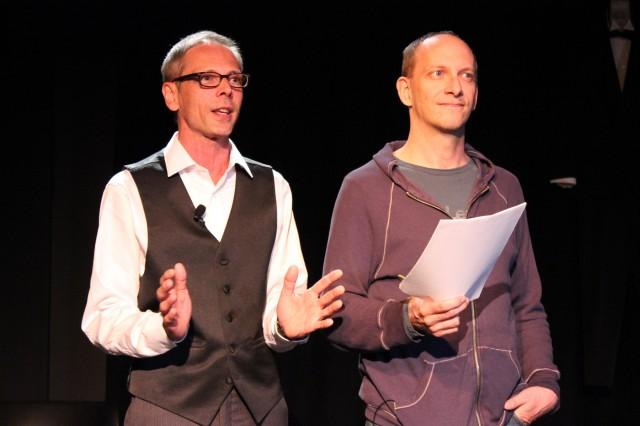 Mark Rhein and Jim Lichtscheidl. Photo by Karen Nelson.