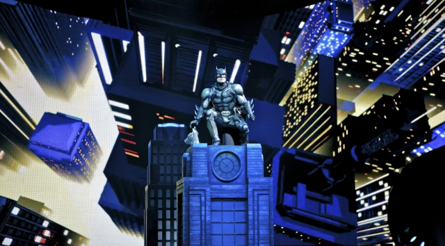 Batman on Gotham. Photo courtesy of Xcel Energy Center.