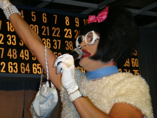 Miss Richfield 1981 at Bingo A-GoGo. Photo by Todd Pernsteiner.