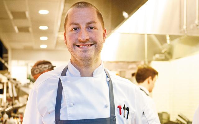 Chef Christiansen helms the kitchen.