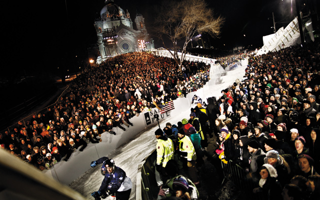 2012 Crashed Ice Championship. Photo by Sebastian Marko/Red Bull Content Pool