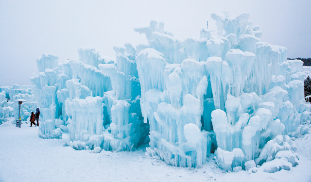 Ice Castle. Photo by Ryan Davis