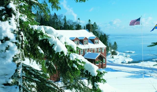The Lodge on Lake Superior at Lutsen Resort. Photo courtesy of Lutsen Resort