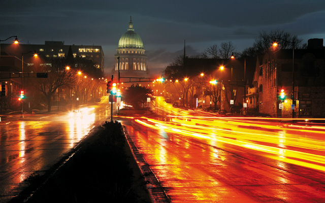 The State Capitol of Wisconsin. Photo courtesy of iStockPhoto