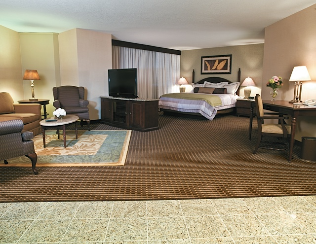 Treasure Island's Boutique Suite. Photo courtesy of Treasure Island Resort & Casino