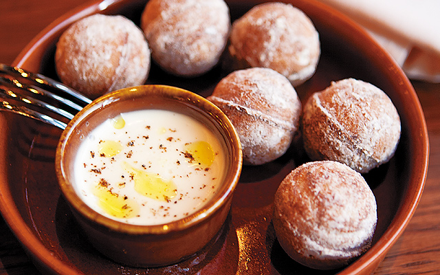 Savory donut holes are the dish everyone is buzzing about.