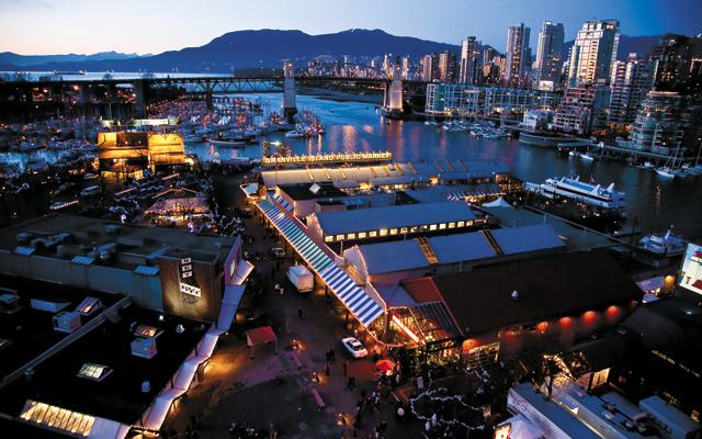 Granville Island. Photo courtesy of Tourism Vancouver