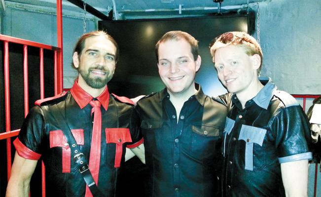 Karri Plowman, Luke Wallrich, and Tynan Fox. Photo courtesy of Steve Lenius