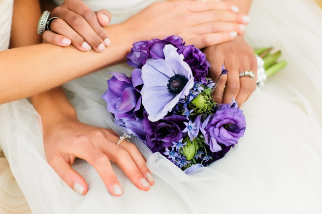 Floral bouquet by Martha's Gardens. Photo by Photogen Inc.