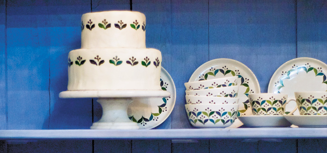 Throw Your Own: Of Cakes and Plates