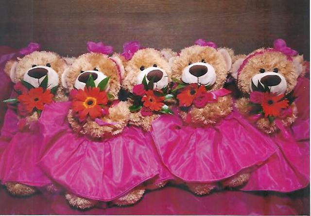 Garden of Eva Teddy Bear Bouquet