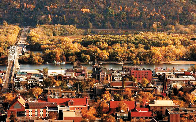 Red Roofs. Photo by Paul Stafford, courtesy of Visit Winona