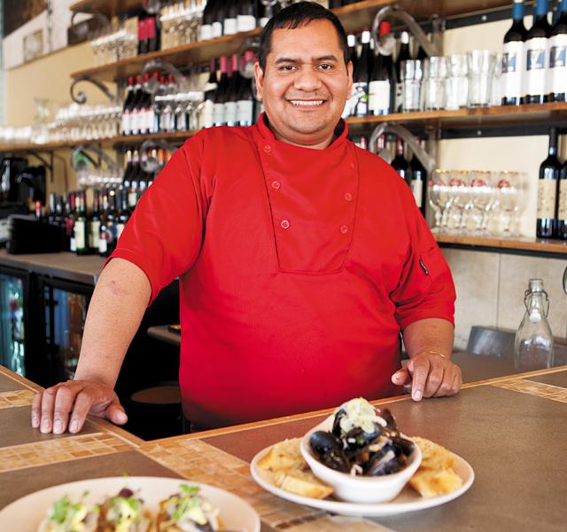 Owner Chef Hector Ruiz.