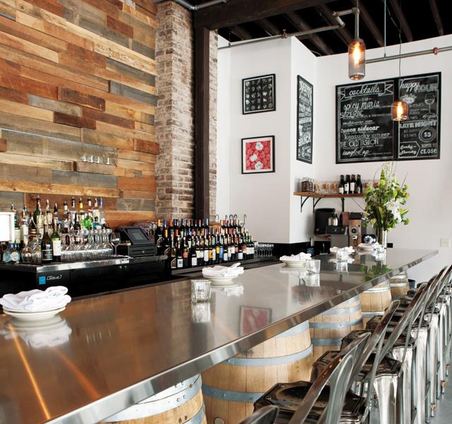 Bar area. Photos by Hubert Bonnet
