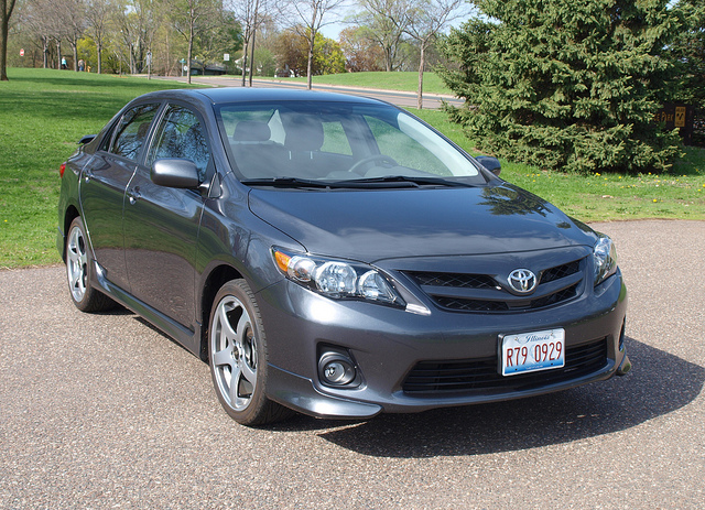 2013 Toyota Corolla S - All photos by Randy Stern