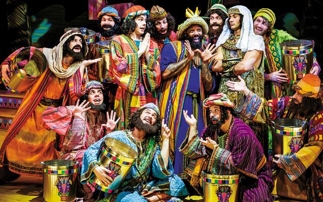 Joseph & The Amazing Technicolor Dreamcoat. Photo by Rick Spaulding
