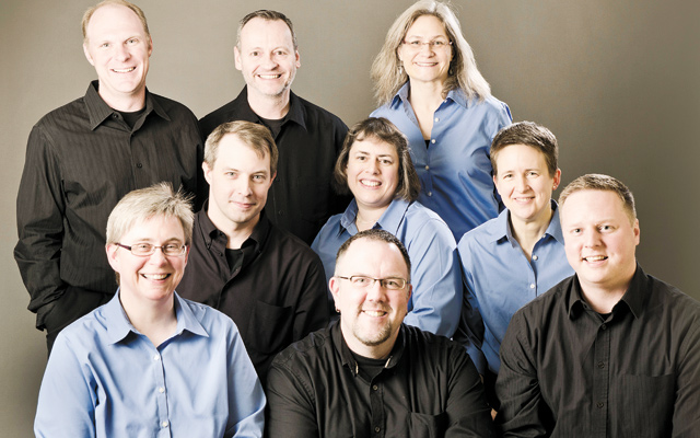 Caritas Vocal Ensemble. Photo by Shelly Campbell
