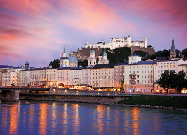 Salzburg, Austria. Photo courtesy of iStockphoto