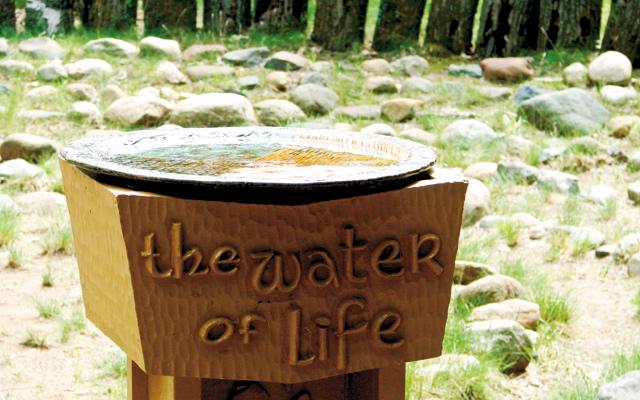 Baptismal Fountain