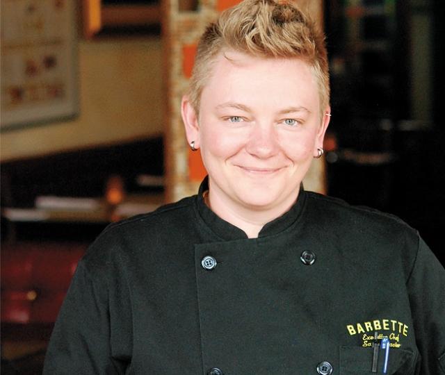 Chef Sarah Master. Photo by Stephanie A. Meyer