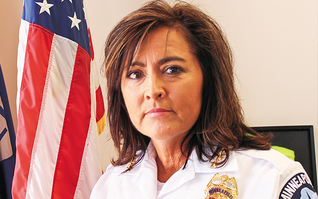 Chief Janeé Harteau. Photo by Pam Colby
