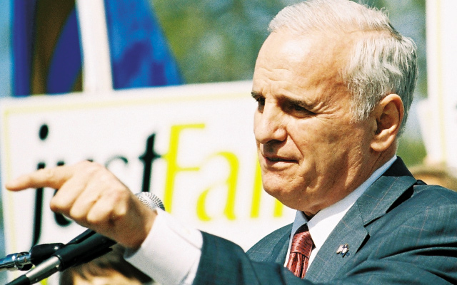 Governor Mark Dayton. Photo by Sophia Hantzes