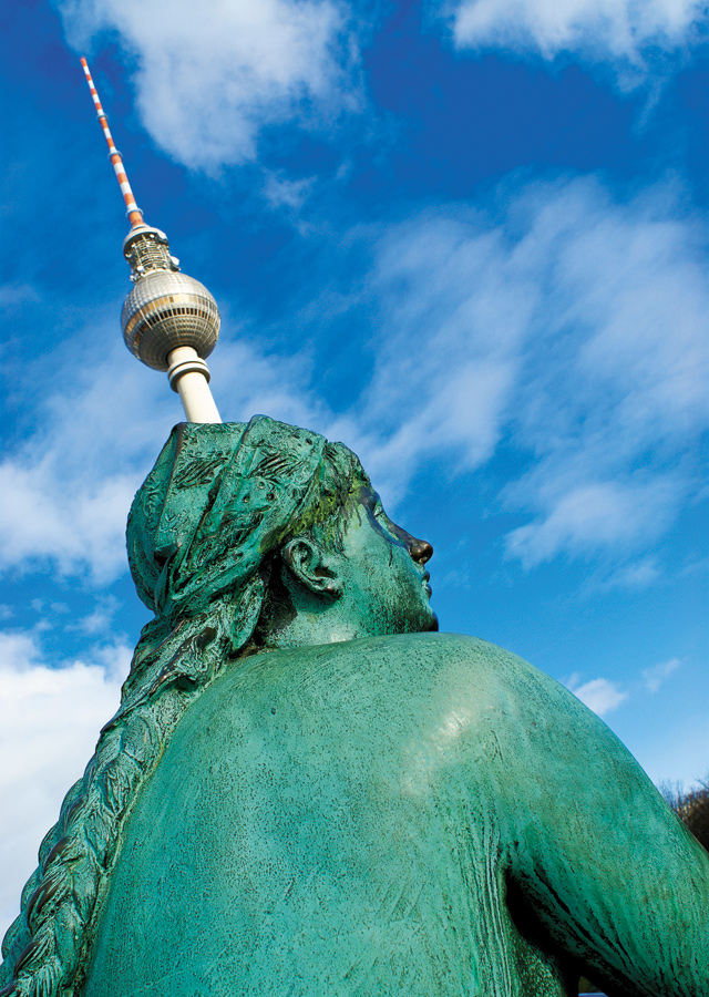 The iconic TV tower landmark of Berlin's eastern (Russian) sector during the cold war. Photo courtesy of stock.xchng