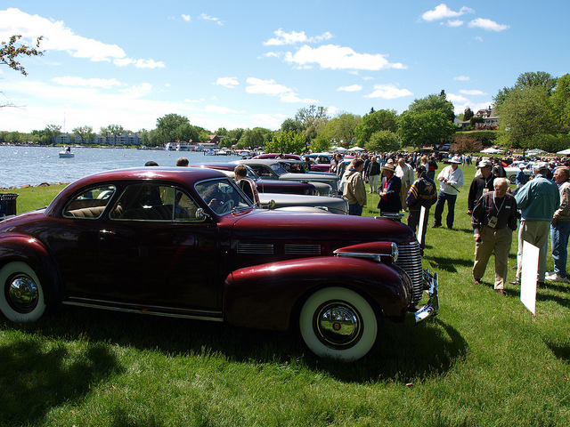 A scene from the 2013 10,000 Lakes Concours d'Elegance - All Photos by Randy Stern