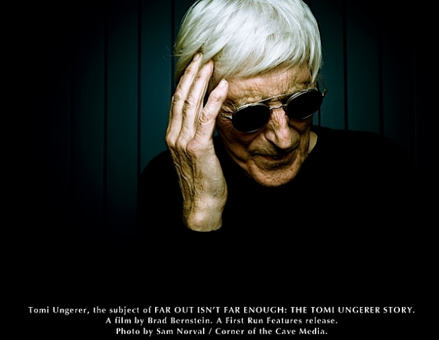 Tomi Ungerer. Photo by Sam Norval / Corner of the Cave Media.