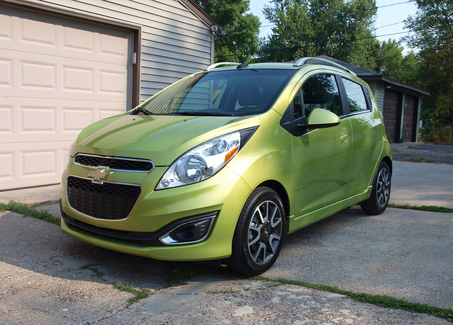 2013 Chevrolet Spark 2LT - All Photos by Randy Stern