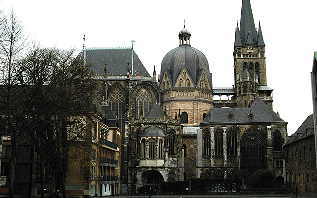 Aachen monumental cathedral. Photo courtesy of iStockphoto