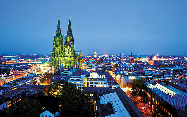 Cathedral in Cologne. Photo courtesy of KölnTourismus.