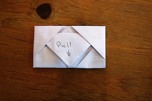 43 Ways to Surprise a Stranger Note