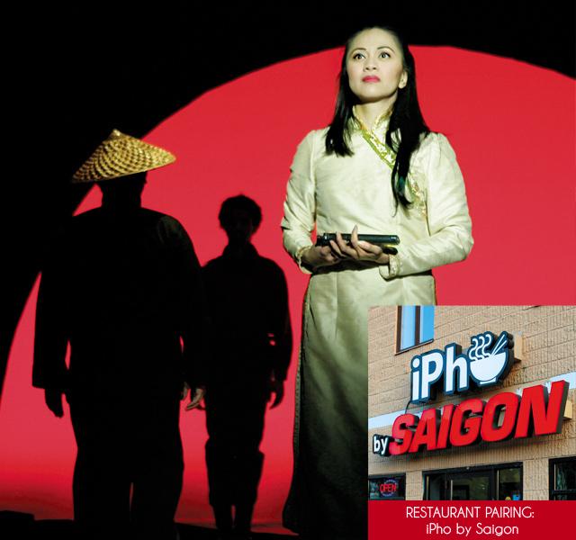 Manna Nichols as Kim in Miss Saigon. Photo by Billy Bustamante. iPho by Saigon. Photo by Mike Hnida