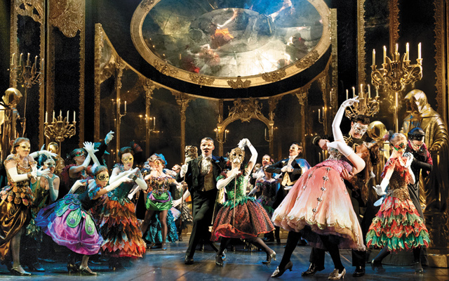 Masquerade The Phantom of the Opera - UK Tour. Photo by Alastair Muir
