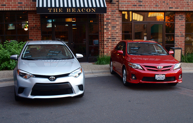 Old and New Corollas