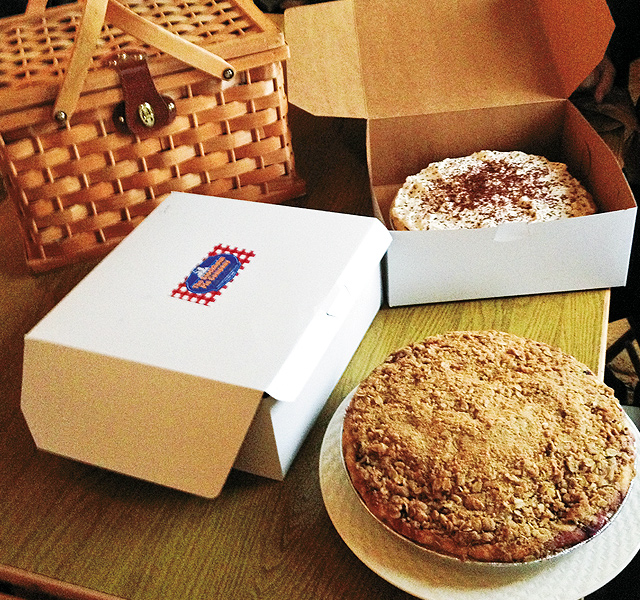 Make time for pie from the Stockholm Pie Company.