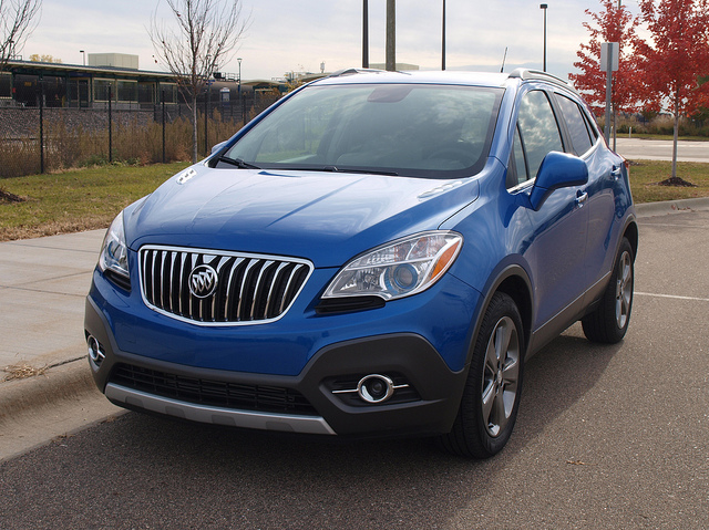 2013 Buick Encore - All Photos by Randy Stern