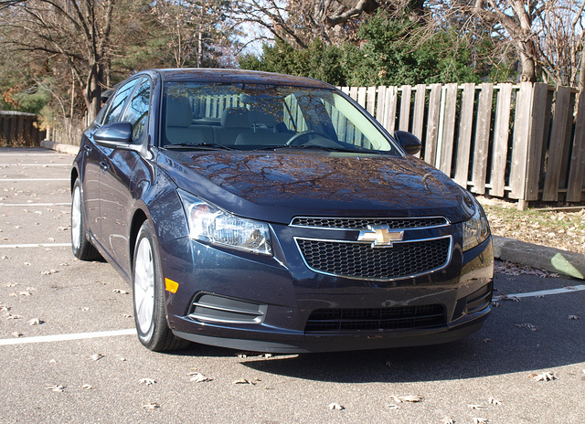 2014 Chevrolet Cruze 2.0TD Clean Diesel - All Photos by Randy Stern