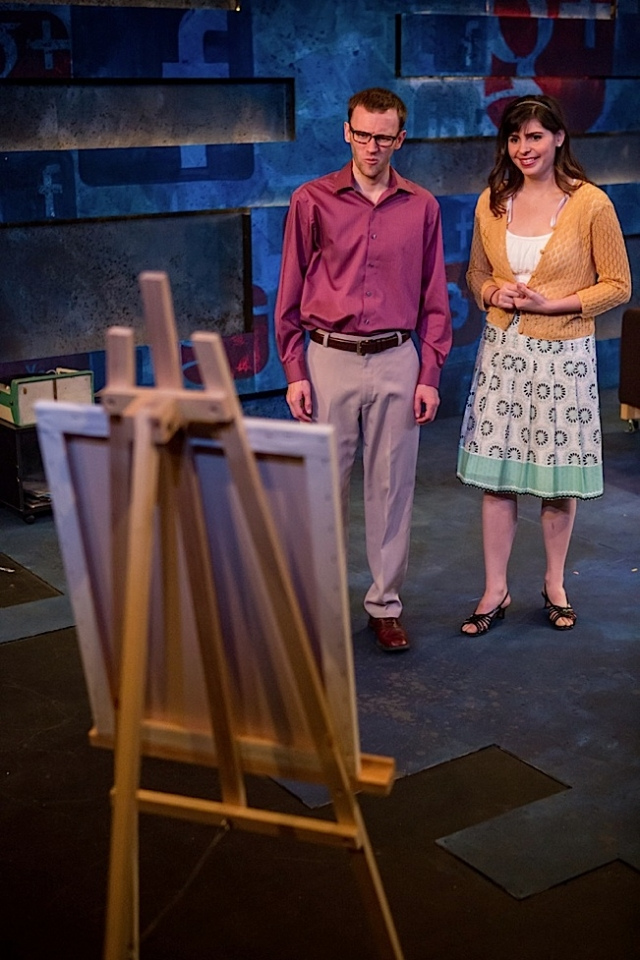 Joe Bombard and Clare Parme. Photo by Dan Norman.