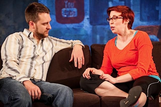 Nicholas Leeman and Megan Dowd. Photo by Dan Norman.
