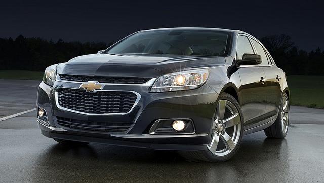 2014 Chevrolet Malibu (LTZ model shown) - Photo Credit: General Motors