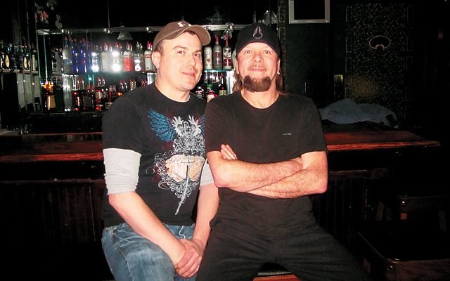 Trenton Dumont (left) and Kevin Hague. Photo by George Holdgrafer