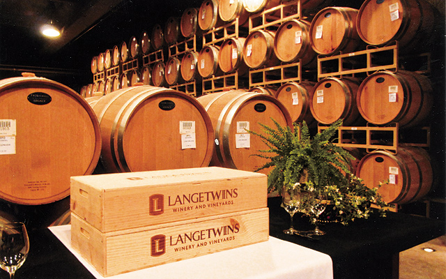 LangeTwins winery is in the forefront of sustainability in producing its grapes & wines. Photo by Carla Waldemar