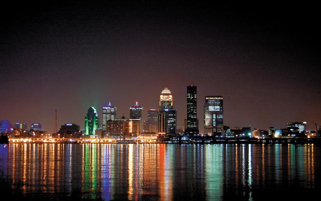 Louisville skyline. Photo courtesy of iStock