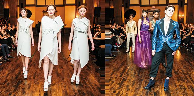 (L-R) Designers: Tim Navarro, Laura Fulk | Photography by Gregg Jiracek