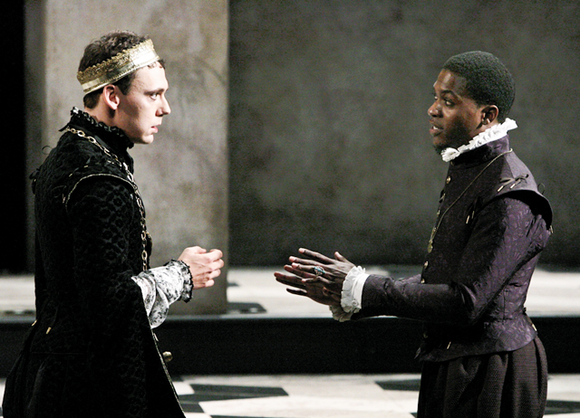 Hamlet. Photo by Michael Lamont