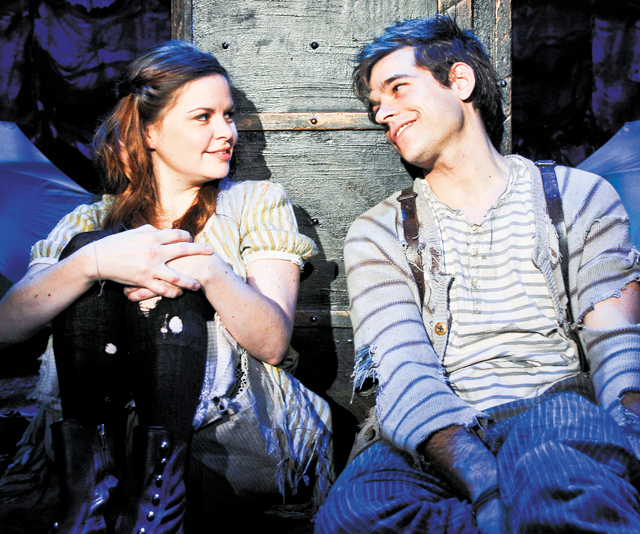 Peter And The Starcatcher. Photo by Jenny Anderson